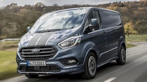 FORD TRANSIT CUSTOM ENTRY