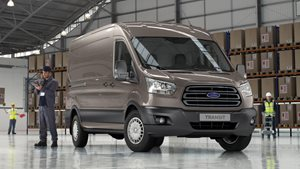FORD TRANSIT VAN ENTRY